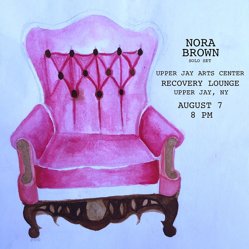 Nora at the Recovery Lounge
