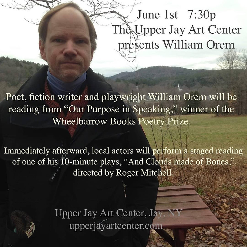 William Orem - Poet and Playwright