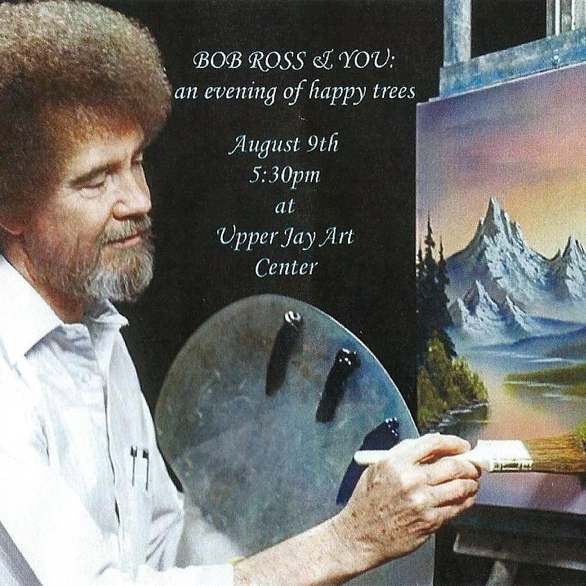Join us for a gentle evening to celebrate the master: Bob Ross