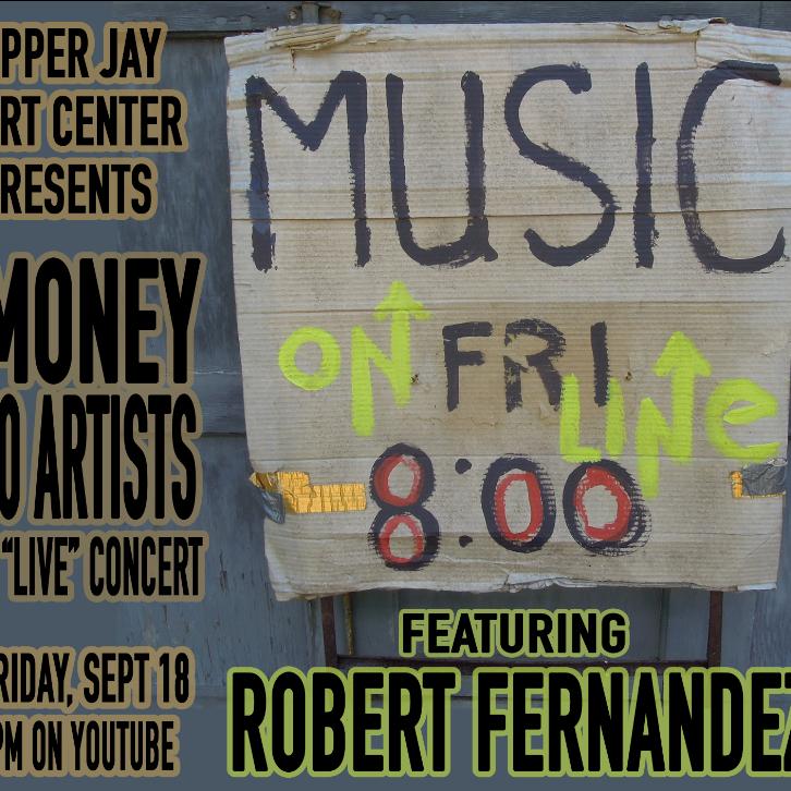 Money For Artists Series - Composer Robert Fernandez