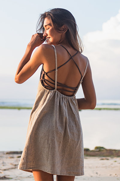 Lakey mini dress