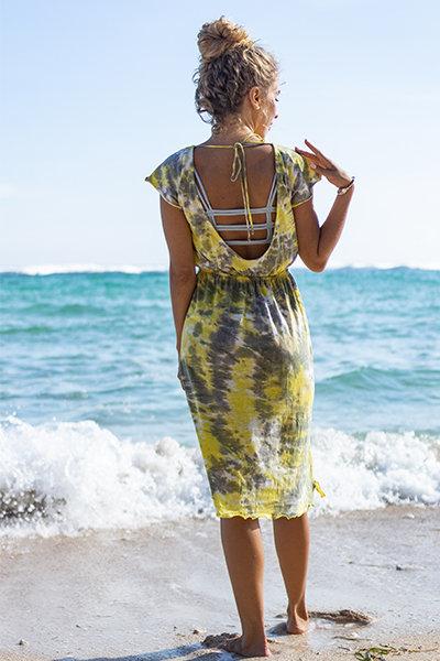 sexy & cute back open dress