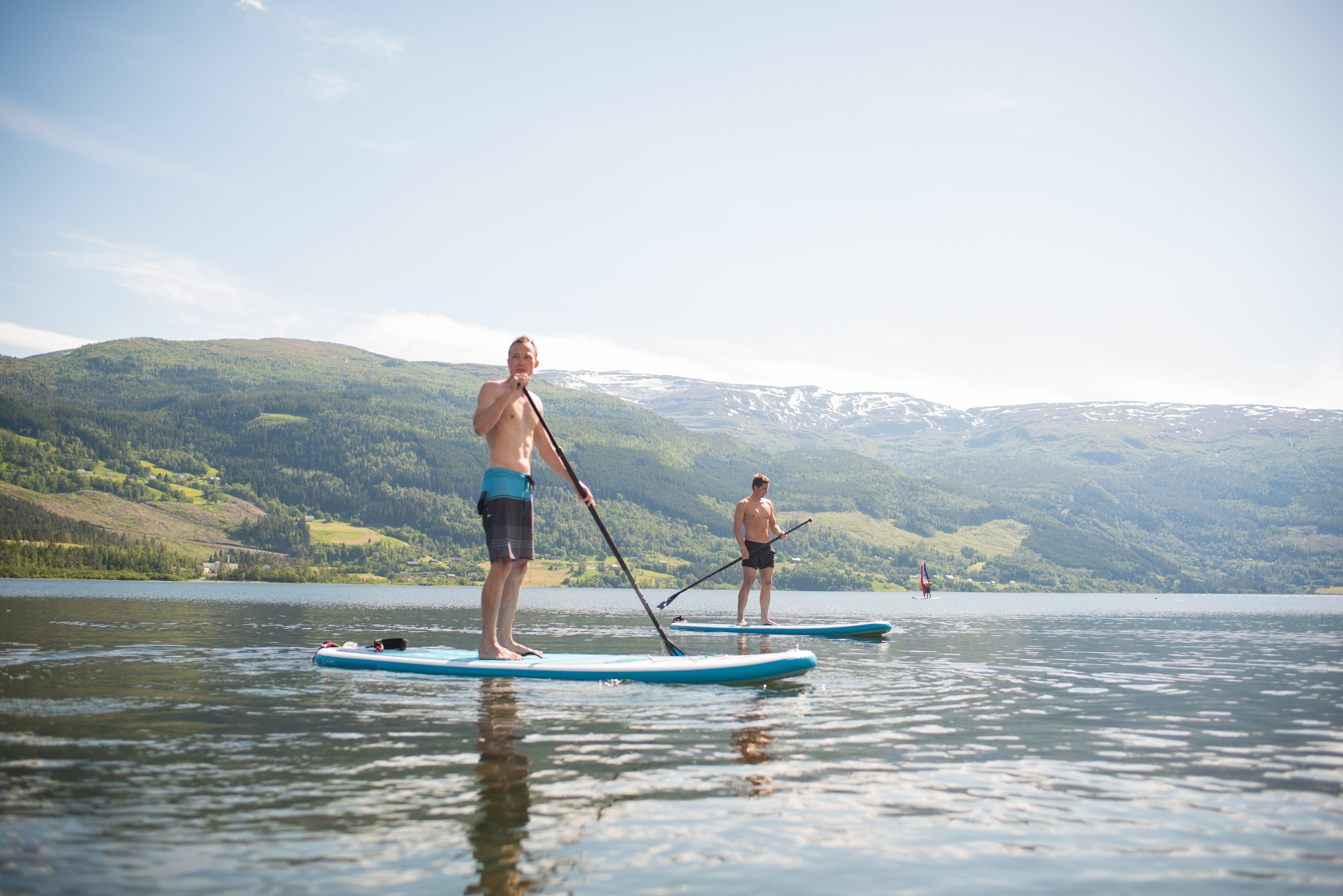 River StandUp Paddle Boarding
