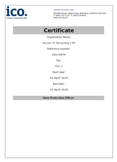 ICO Registration