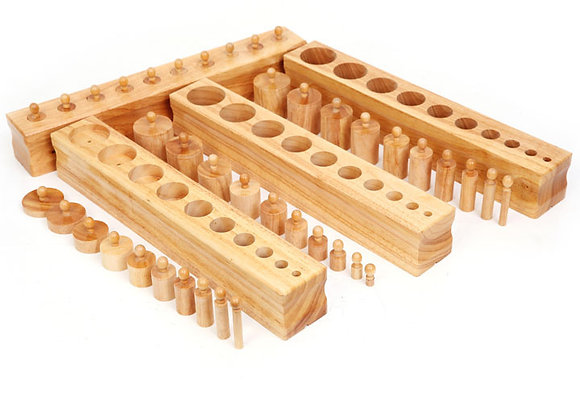 Knobbed cylinders
