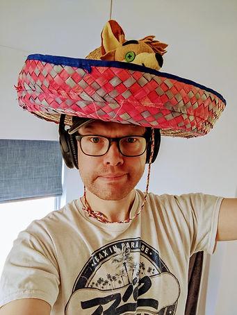 A hat.