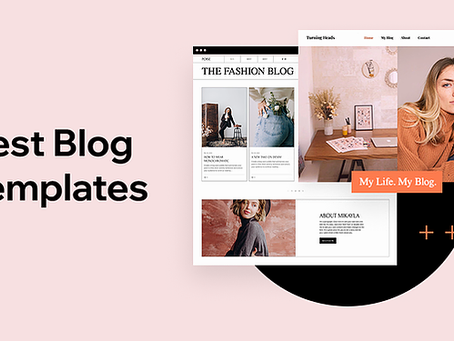 2021'in En İyi 25 Blog Şablonu