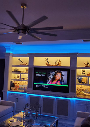 Built In Color and White LED Lighting Presented by Global Glow