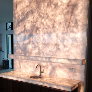 Cristallo Stone Wet Bar Presented by Global Glow
