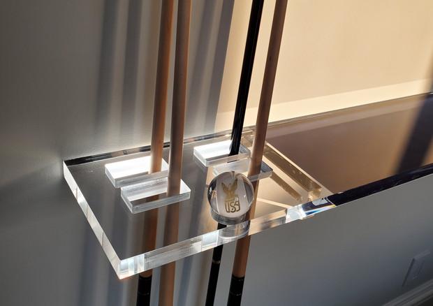 Glow Billliard Shelf Presented by Global Glow Lighting Design