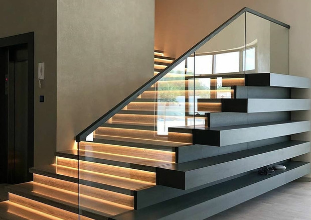 LED Stair Illumination Presented by Global Glow