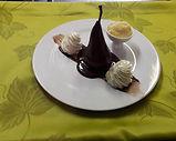 Restauration, cuisine traditionnelle, menu à la carte, dessert gourmand, produits frais et locaux
