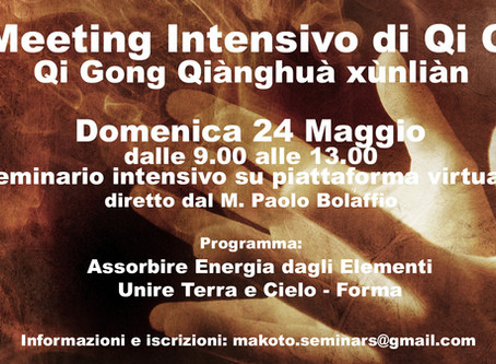 2° Meeting intensivo di Qi Gong