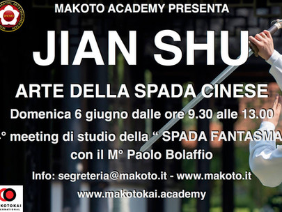 JIAN SHU - La Spada Fantasma
