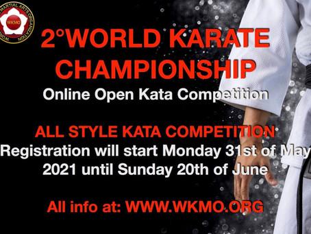 2^ Campionato del mondo WKMO di karate Online