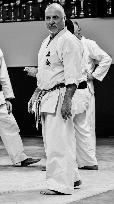 Master Paolo Bolaffio 9th dan of Makotokai karate