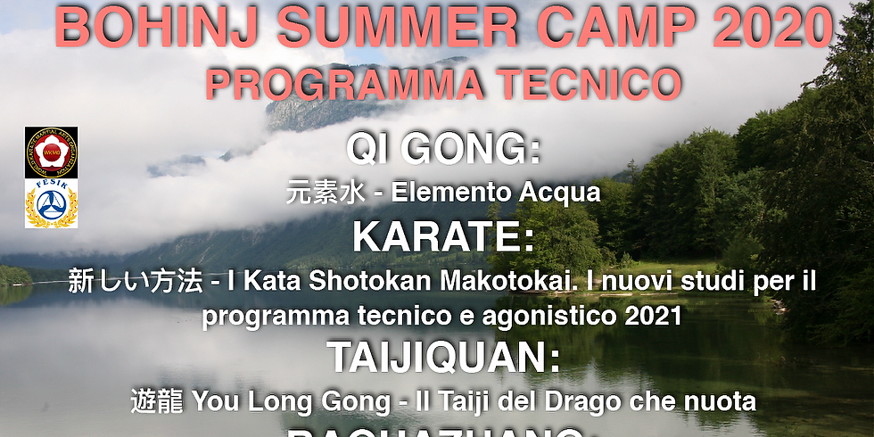 Summer Seminar in Bohinj 2020