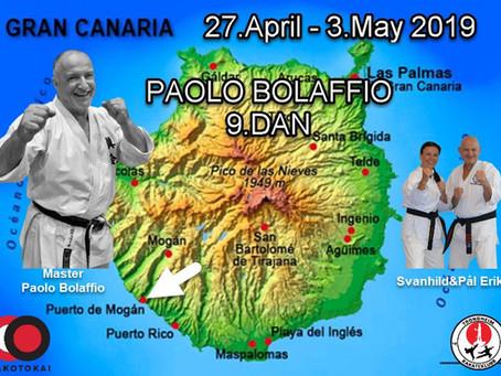 Seminar Gran Canaria 2019