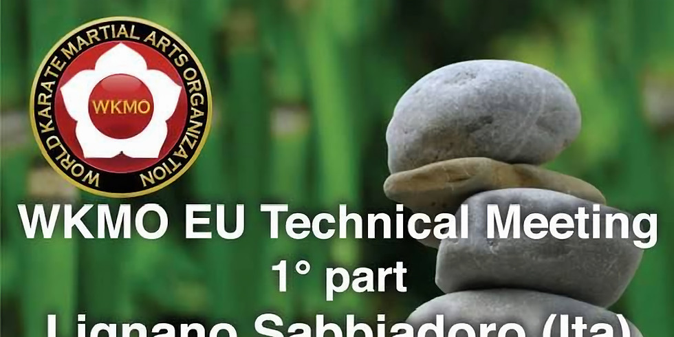 1st WKMO EU Technical Meeting