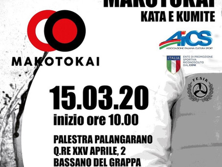 Campionato Nazionale AICS Makotokai