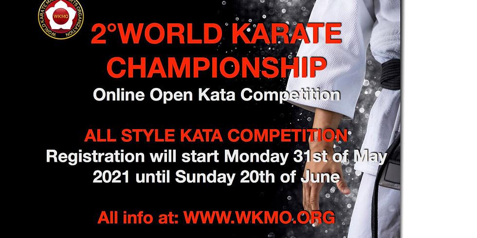 2° OTW Open World Karate Championship 2021 - Athletes registration fees