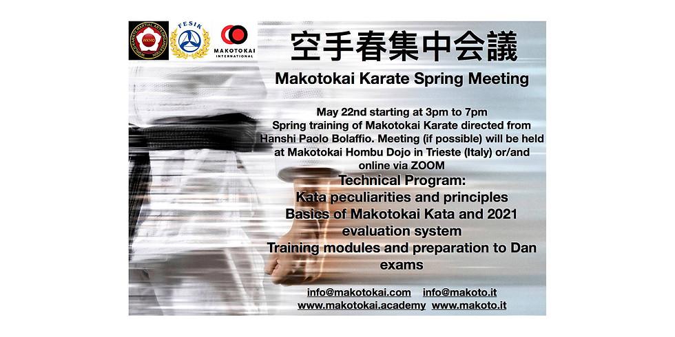 Meeting di Primavera Makotokai