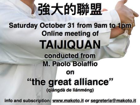 The Great Alliance - Taiji seminar