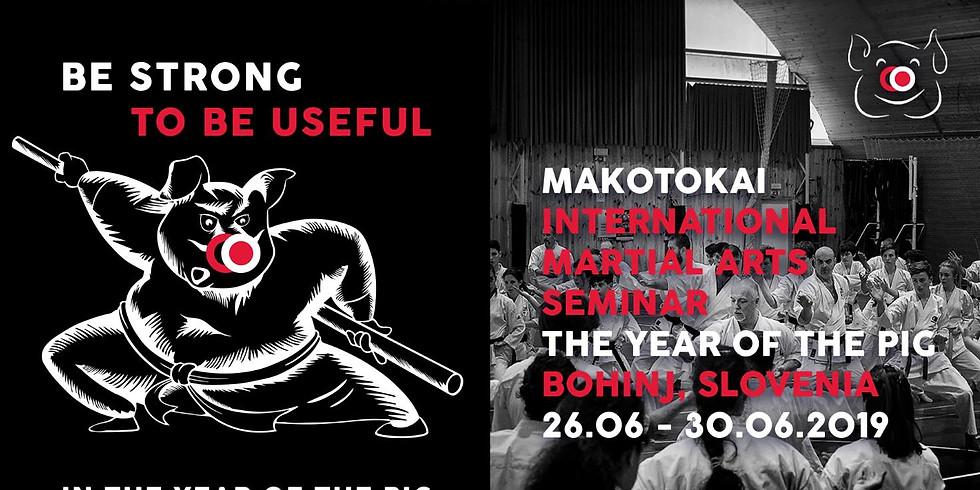 Makotokai International Seminar - Bohinj (SLO)