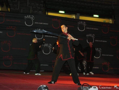 Corso juniores di armi cinesi (Ping Ci)