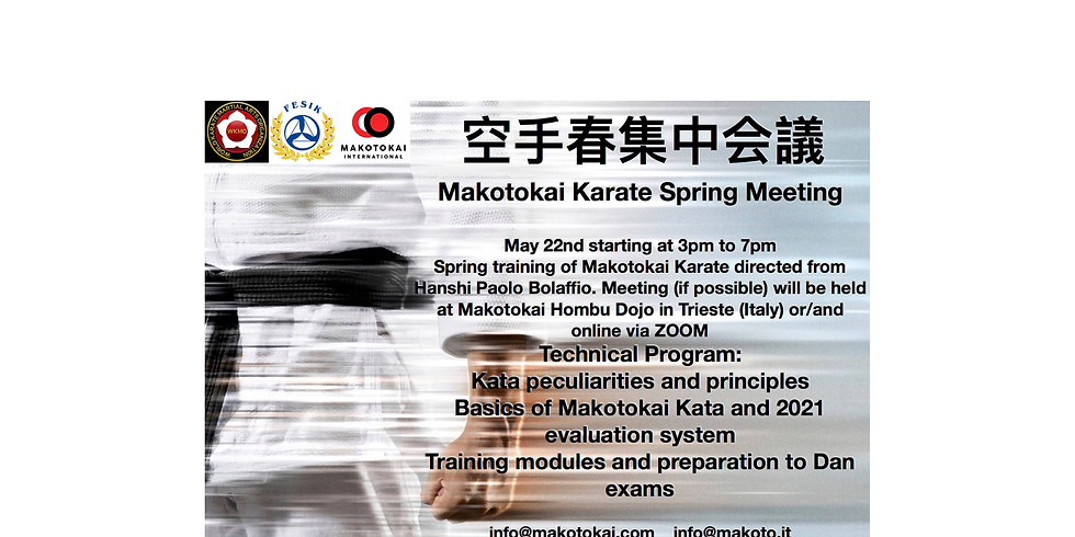 Makotokai Spring Meeting