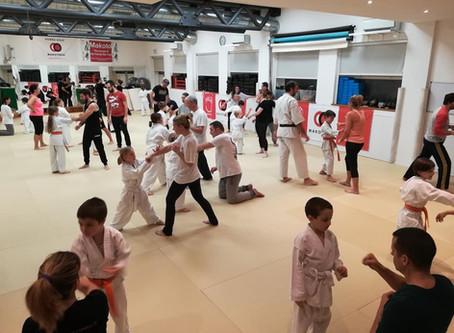 Makotokai karate - Lezione Genitori & Figli
