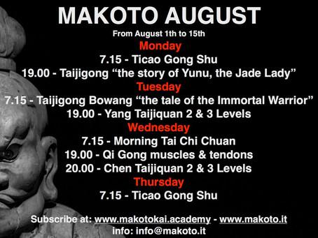 Makoto Online Summer Courses