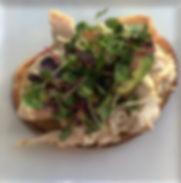 Chickn Mayo Sandwich