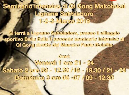 Maratona di Qi Gong Makotokai