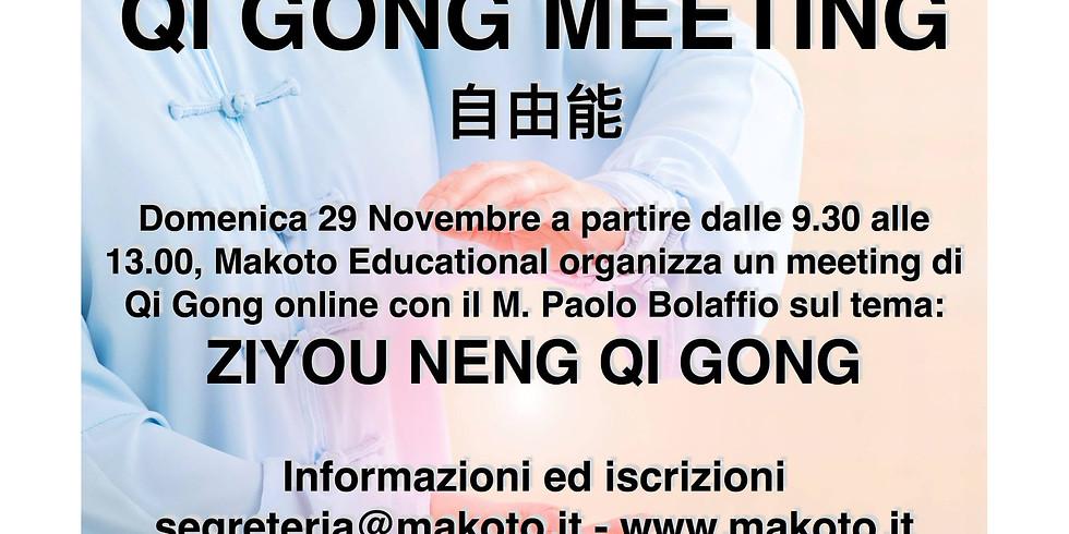 Qi Gong Meeting - Novembre