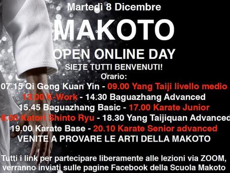 Open day online alla Makoto
