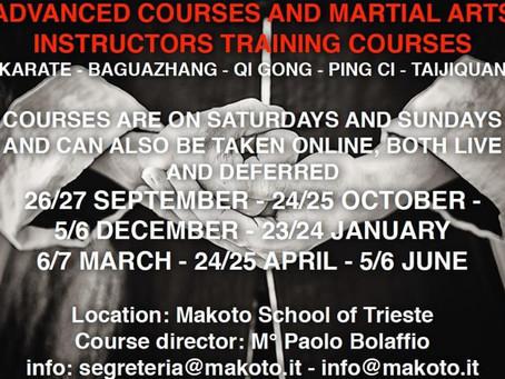 Advanced Courses & Instructors Training Courses