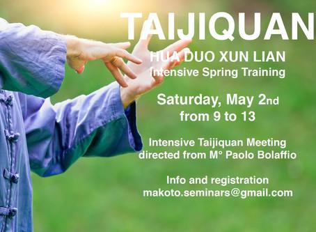 Taijiquan Spring Meeting