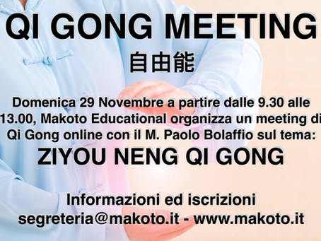 Seminario di Qi Gong Novembre