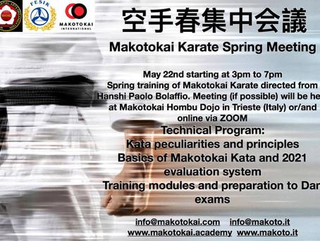 Meeting Makotokai di primavera