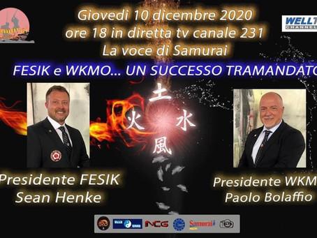 """FESIK e WKMO a """"La voce dei Samurai"""""""