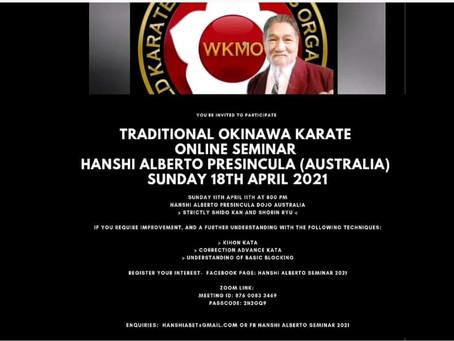 Traditional Okinawa Karate Seminar