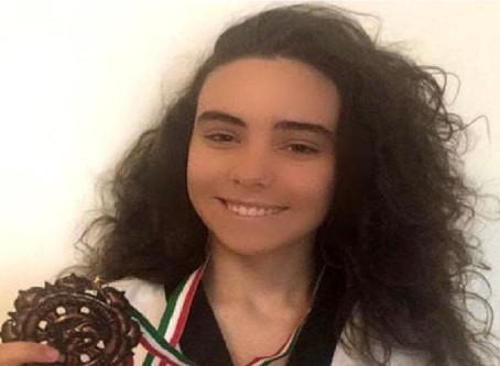 Taekwondo, la giovanissima triestina Barbara Peric scelta per la Best Poomsae a squadre regionali
