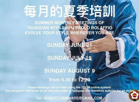 Tai Chi Summer Seminar - 2