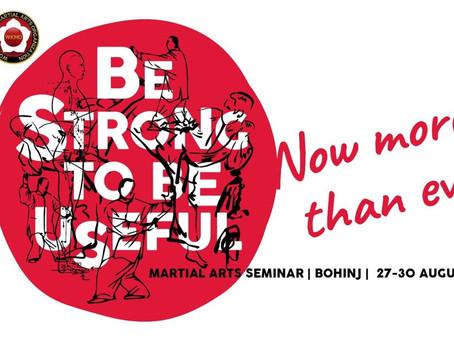 Seminario di Bohinj 2020