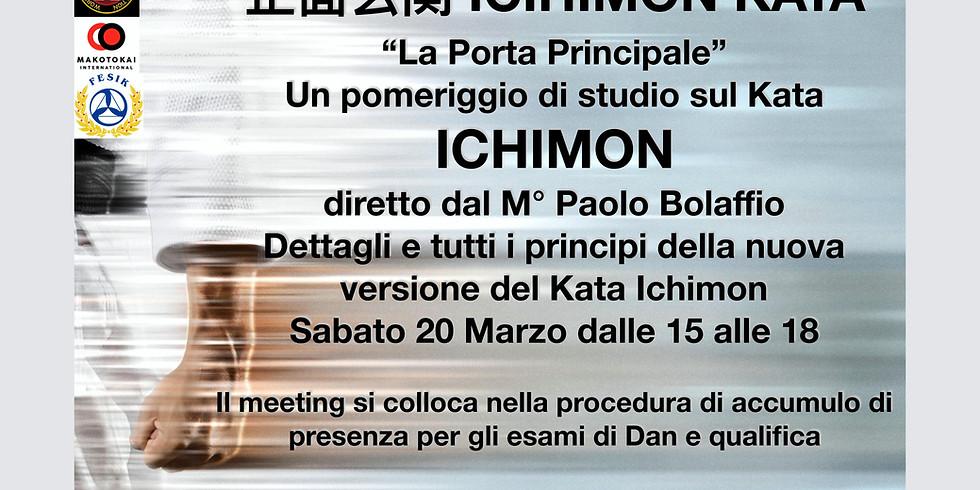 Karate Seminar - Ichimon kata