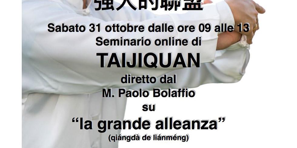 """Seminario online di Taiji """"La Grande Alleanza"""""""