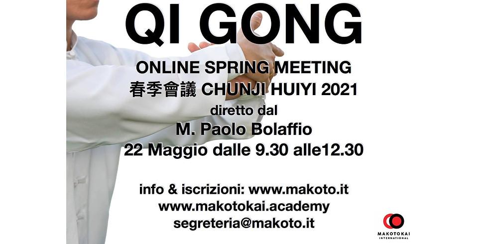 Qi Gong - Chunji Huiyi 2021