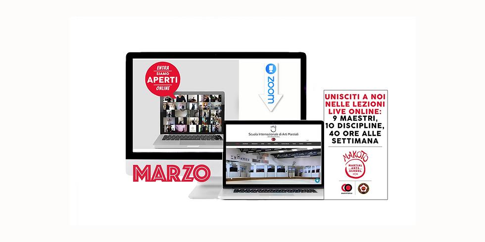Corsi live online Makoto mono settimanali e brevi / Once a week or short live online Makoto courses