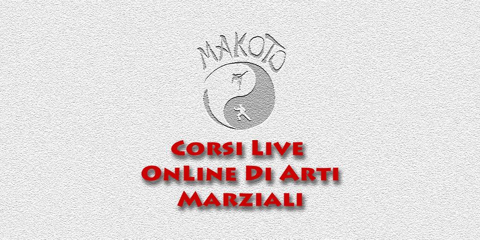 Corsi live online Makoto mono settimanali o brevi | Once a week or short live online Makoto courses